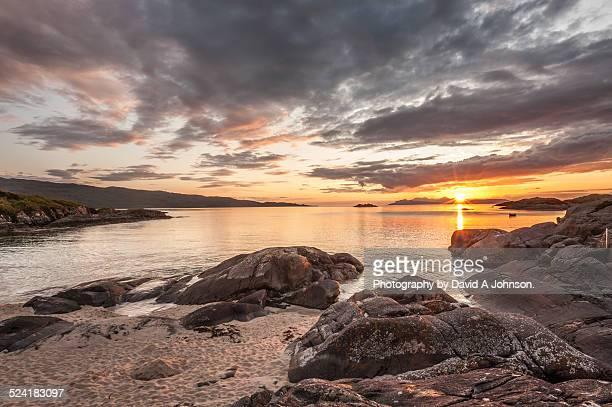 Scottish Sunset-Ardtoe.