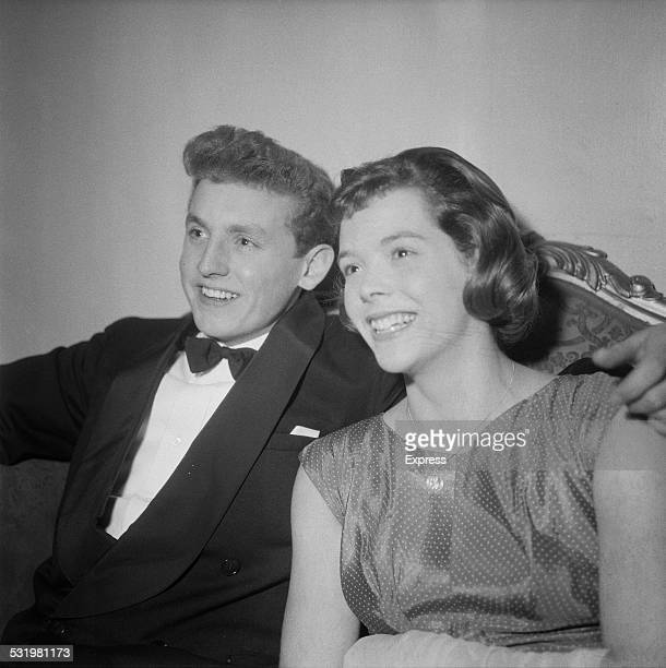 Scottish swimmer Ian Black and British Olympic swimmer Judy Grinham at the BBC Sports Personality of the Year presentations in Park Lane London...