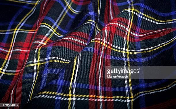 Scottish Tartan Fabric