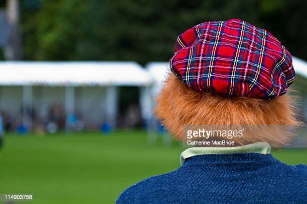 Scottish tartan jimmy hat