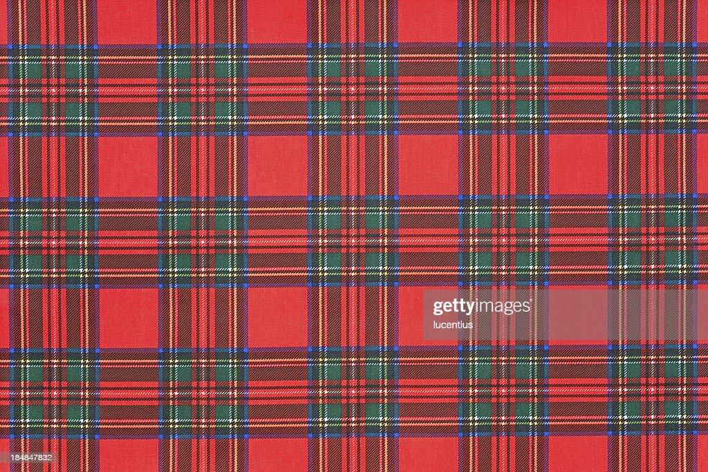 Scottish tartan : Stock Photo