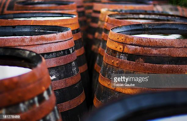 Scottish whisky casks