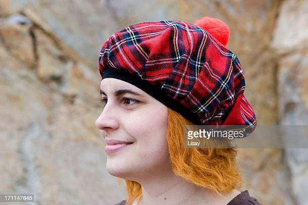 scottish woman - scottish culture stock pictures, royalty-free photos & images
