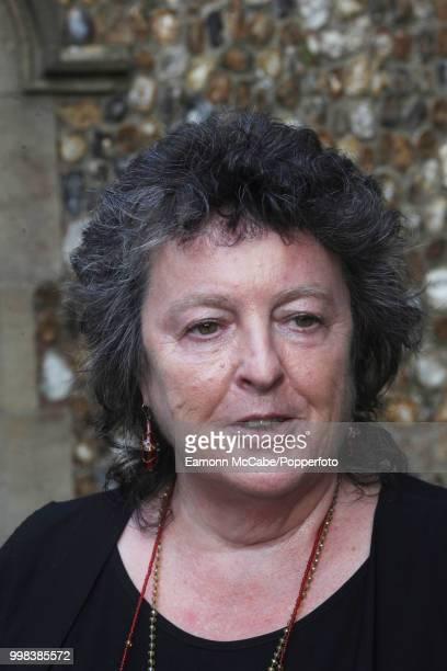 Scottish writer and poet Laureate Carol Ann Duffy Aldeburgh Suffolk 19th June 2017