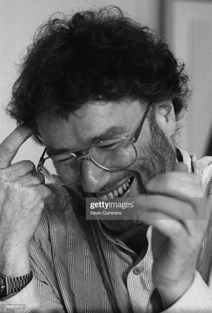 Scottish writer Iain Banks, September 1997.