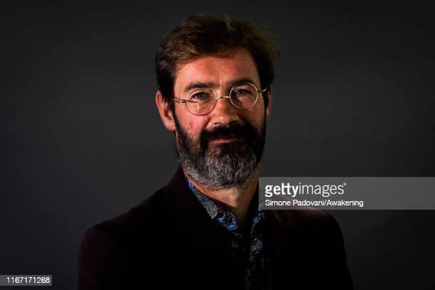 Scottish writer James Oswald attends a photocall during Edinburgh International Book Festival 2019 on August 10, 2019 in Edinburgh, Scotland.