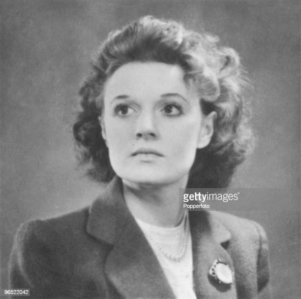 Scottish writer Muriel Spark circa 1948