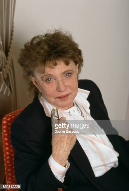 Scottish writer Muriel Spark is in Paris for the release of two novels Le Banquet and Les Consolateurs