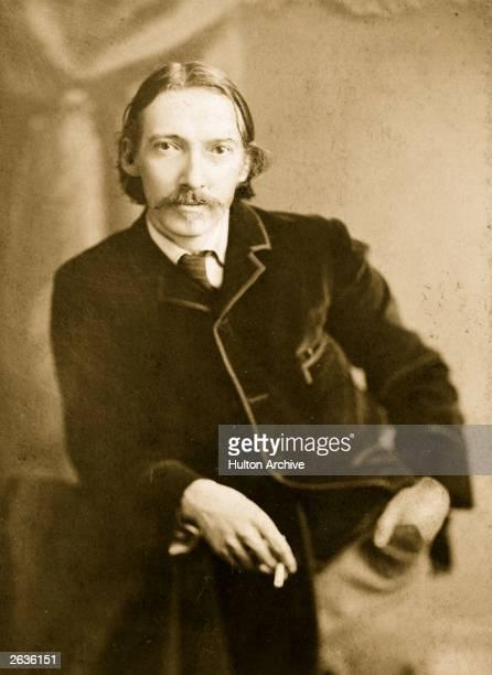 Scottish writer novelist and traveller Robert Louis Stevenson