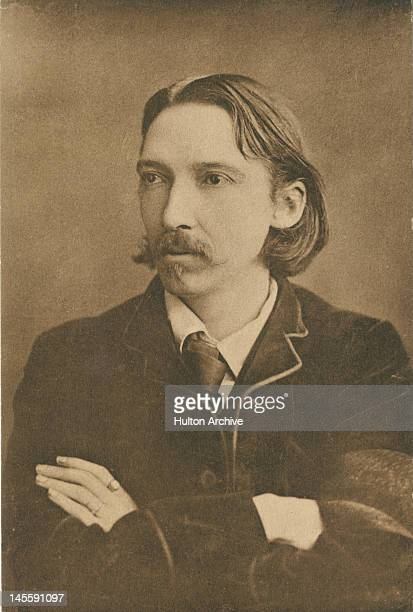 Scottish writer Robert Louis Stevenson circa 1880 He is best known for his books 'Treasure Island' 'Kidnapped' and 'The Strange Case of Dr Jekyll and...