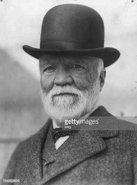 ScottishAmerican industrialist and major philanthropist Andrew Carnegie circa 1900s