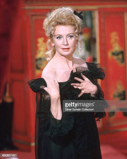 Scottishborn actress Deborah Kerr as Agent Mimi in the spy spoof 'Casino Royale' 1967