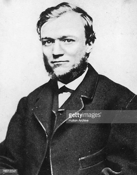 Scottishborn American industrialist and philanthropist Andrew Carnegie 1868