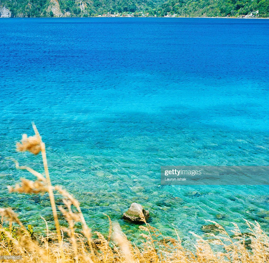 Scotts Head, Dominica, West Indies : Stock Photo