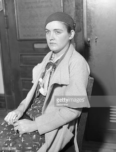 Scottsboro'Victim' Questioned Miss Ruby Bates one of the 'victims' in the Scottsboro Negro case who disappeared after testifying that she had not...