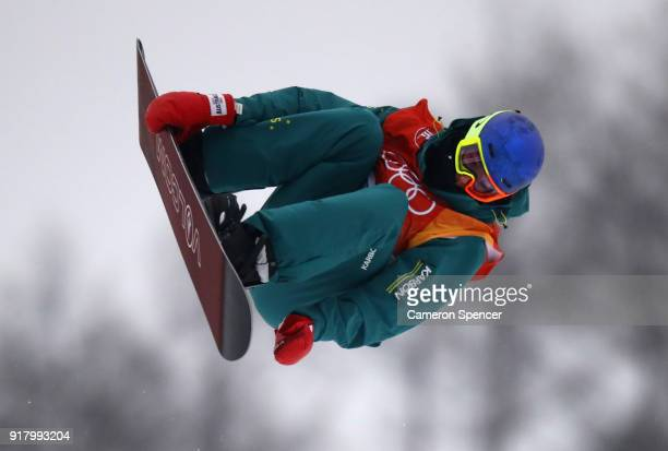 Scotty James of Australia competes during the Snowboard Men's Halfpipe Final on day five of the PyeongChang 2018 Winter Olympics at Phoenix Snow Park...