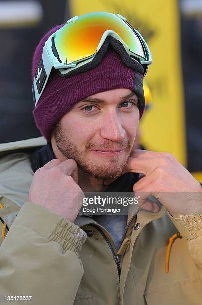 Scotty Lago looks on during the men's halfpipe finals of the Sprint US Snowboard Grand Prix on December 10 2011 in Copper Mountain Colorado