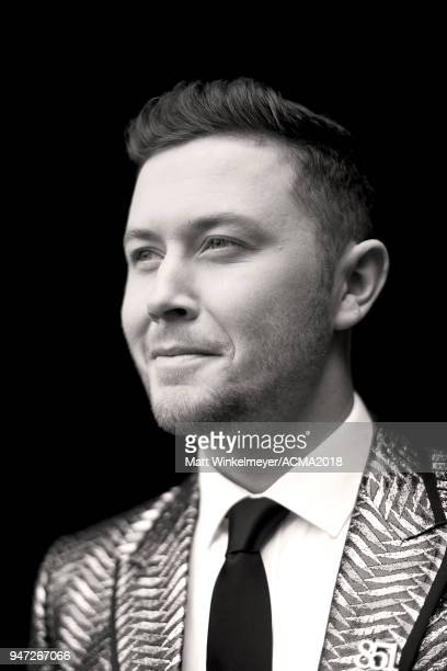 Scotty McCreery attends the 53rd Academy of Country Music Awards t on April 15 2018 in Las Vegas Nevada