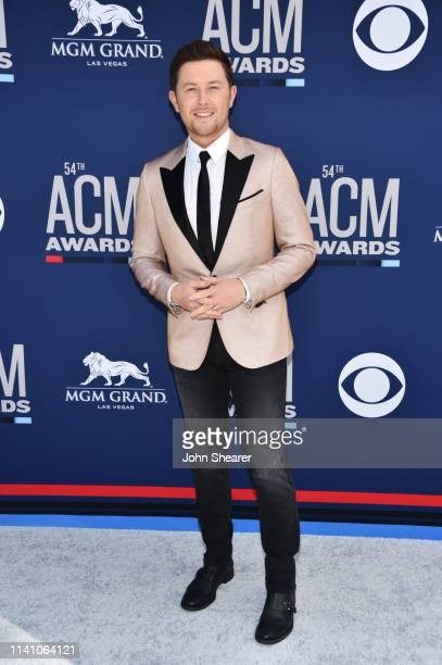 Scotty McCreery attends the 54th Academy Of Country Music Awards at MGM Grand Hotel Casino on April 07 2019 in Las Vegas Nevada