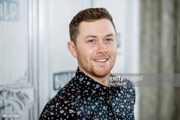 Scotty McCreery discusses Seasons Change with the Build Series at Build Studio on March 13 2018 in New York City