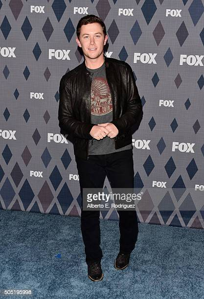 Scotty McCreery Singer attends the FOX Winter TCA 2016 AllStar Party at The Langham Huntington Hotel and Spa on January 15 2016 in Pasadena California