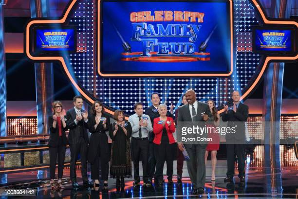 FEUD 'Scotty McCreery vs Chris Kattan and Amber Riley vs Tori Spelling Dean McDermott' The celebrity teams competing to win cash for their charities...