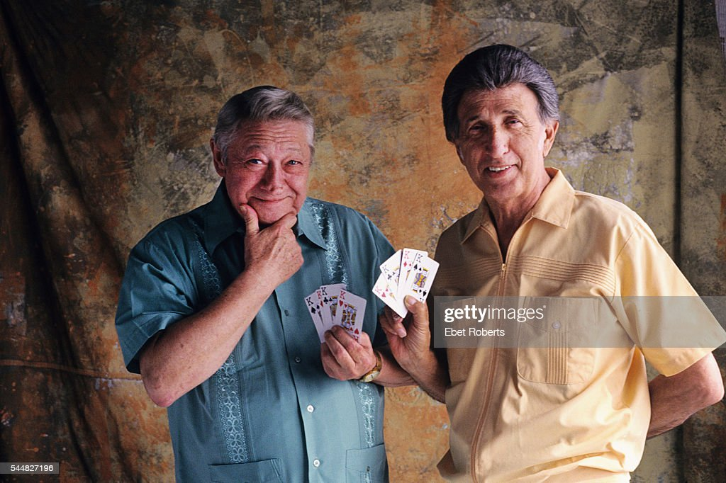 Scotty Moore and DJ Fontana in Nashville, Tennessee on August 1, 1997.