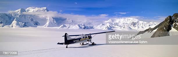 'Scout bush airplane, Wrangell-St. Elias National Part, Alaska'