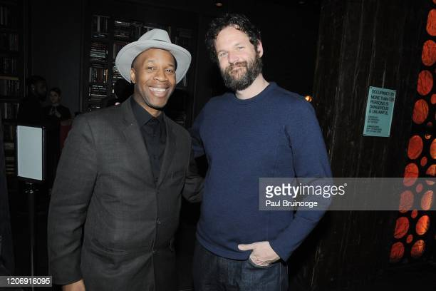 Scout Ford and Kyle Marvin attend Sony Pictures Classics And The Cinema Society Host A Special Screening Of The Climb at iPic Theater on March 12...
