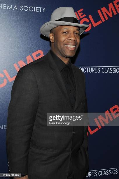 Scout Ford attends Sony Pictures Classics And The Cinema Society Host A Special Screening Of The Climb at iPic Theater on March 12 2020 in New York...