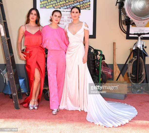 """Scout Larue Willis, Tallulah Belle Willis and Rumer Willis arrives at the Sony Pictures' """"Once Upon A Time...In Hollywood"""" Los Angeles Premiere on..."""