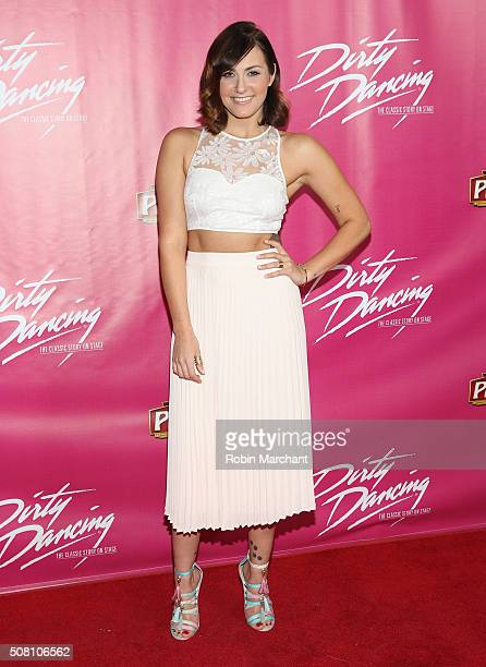 Scout TaylorCompton attends Opening Night Of 'Dirty Dancing The Classic Story On Stage' at the Pantages Theatre on February 2 2016 in Hollywood...