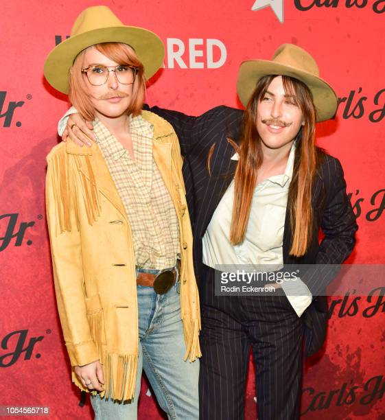 Scout Willis and Rumer Willis attend Just Jared's 7th Annual Halloween Party at Goya Studios on October 27 2018 in Los Angeles California