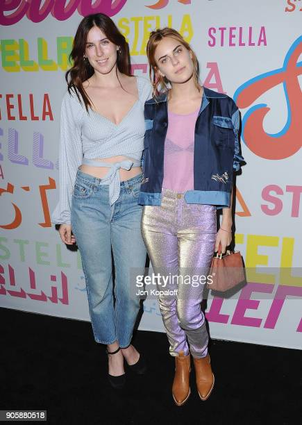 Scout Willis and Tallulah Willis attend Stella McCartney's Autumn 2018 Collection Launch on January 16 2018 in Los Angeles California
