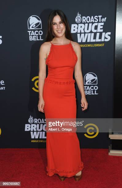 Scout Willis arrives for the Comedy Central Roast Of Bruce Willis held at Hollywood Palladium on July 14 2018 in Los Angeles California