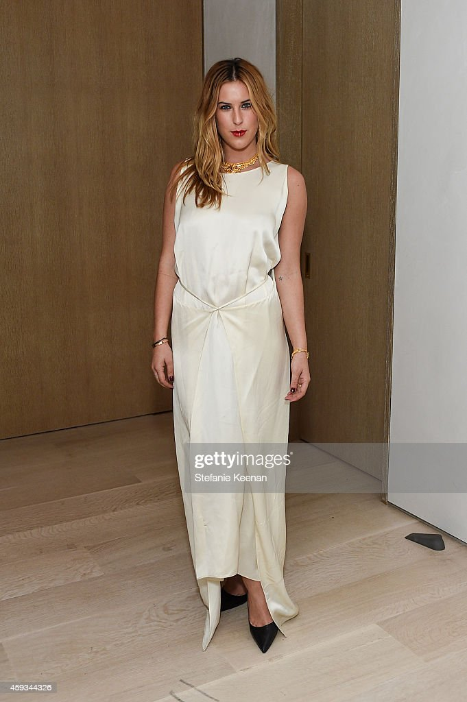 Scout Willis attends NET-A-PORTER Celebrates Rosetta Getty on November 20, 2014 in Los Angeles, California.