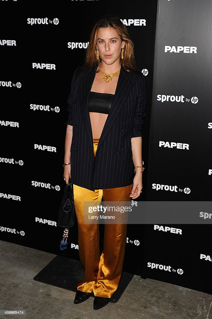 Scout Willis attends Paper Magazine, Sprout By HP & DKNY Break The Internet Issue Release at 1111 Lincoln Road on December 4, 2014 in Miami, Florida.