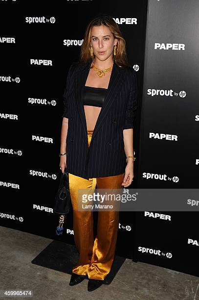 Scout Willis attends Paper Magazine Sprout By HP DKNY Break The Internet Issue Release at 1111 Lincoln Road on December 4 2014 in Miami Florida