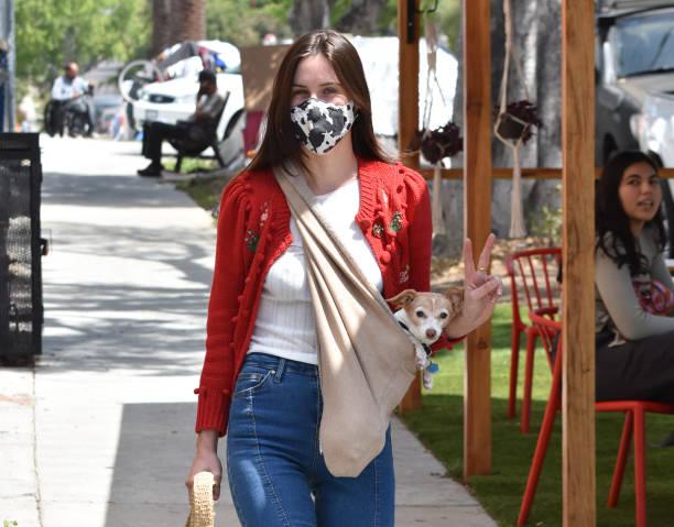 CA: Celebrity Sightings In Los Angeles - April 15, 2021