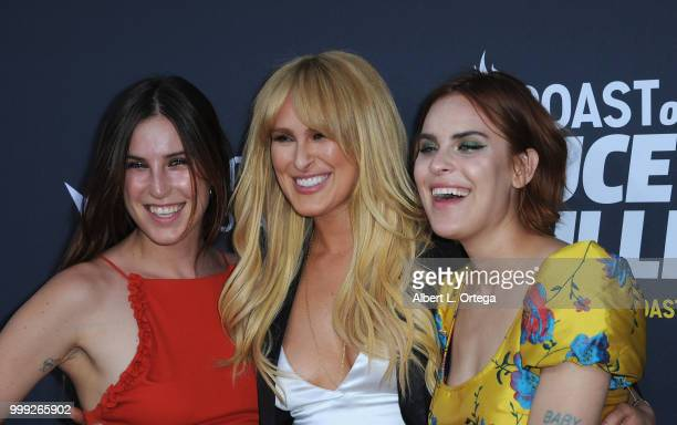 Scout Willis, Rumer Willis and Tallulah Willis arrive for the Comedy Central Roast Of Bruce Willis held at Hollywood Palladium on July 14, 2018 in...