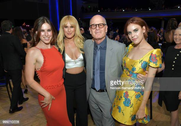 Scout Willis, Rumer Willis, guest, and Tallulah Willis attend the Comedy Central Roast of Bruce Willis at Hollywood Palladium on July 14, 2018 in Los...