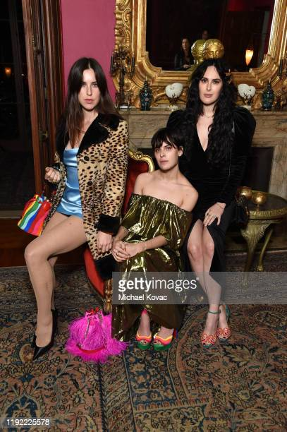 Scout Willis, Tallulah Willis, and Rumer Willis attend the Christian Louboutin & Laura Brown Celebrate The Debut Of The 'ELISA' at The Paramour...