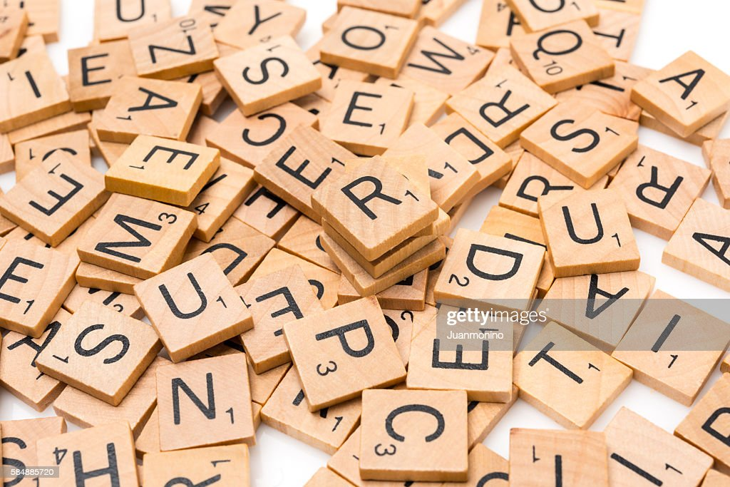 Scrabble Letters : Stock Photo