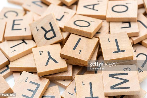 Scrabble Buchstaben