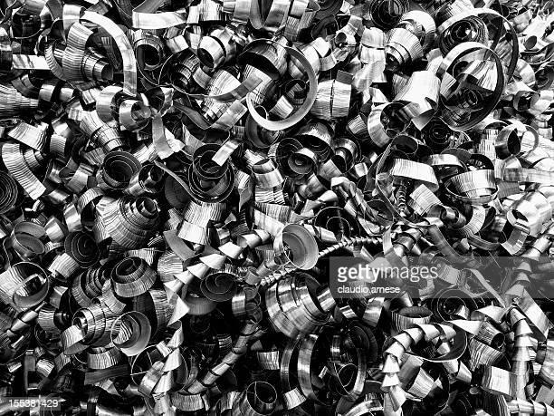 Scrap Metal. Color Image