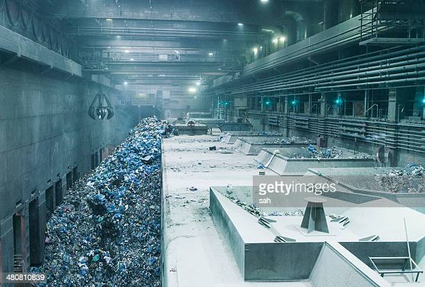 Scrap metal recycling depot