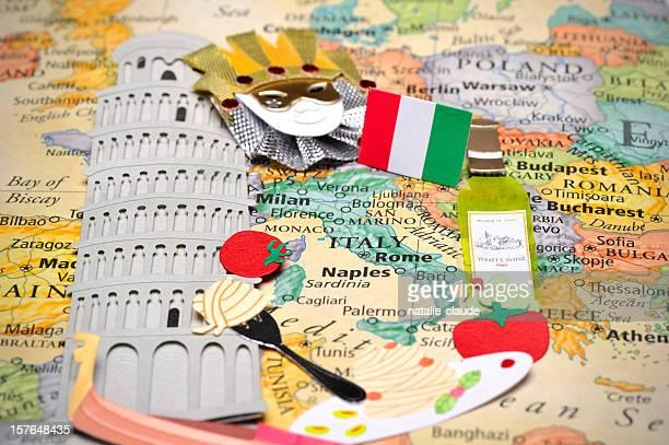 Scrapbooking en Italie.