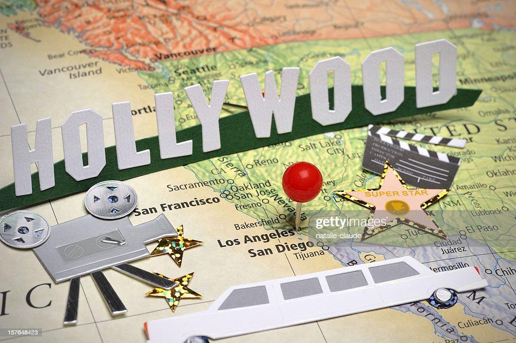 Scrapbooking around Los Angeles : Stock Photo