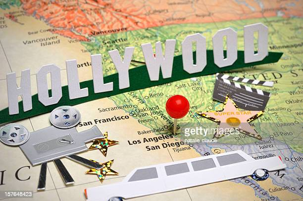 scrapbooking around los angeles - hollywood kalifornien bildbanksfoton och bilder