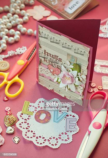 Scrapbooking with love